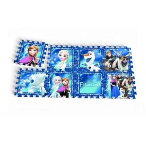 Tapis de jeu en mousse 8 pièces Reine des Neiges