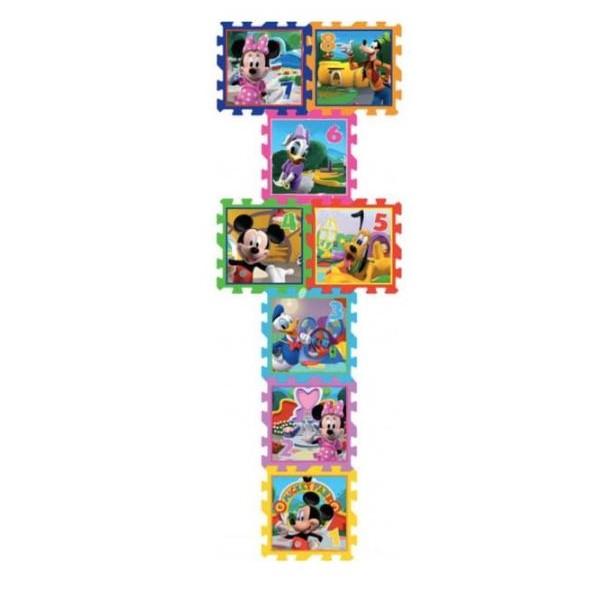 Tapis de jeu 8 pièces en mousse Mickey