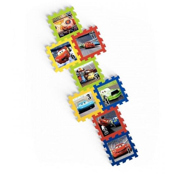 Tapis de jeu puzzle 8 pièces en mousse Cars