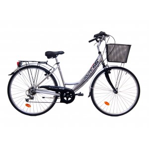 Vélo VTC Calipso mixte ROUTE 66 - cadre aluminium