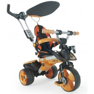 Tricycle évolutif Trike City orange