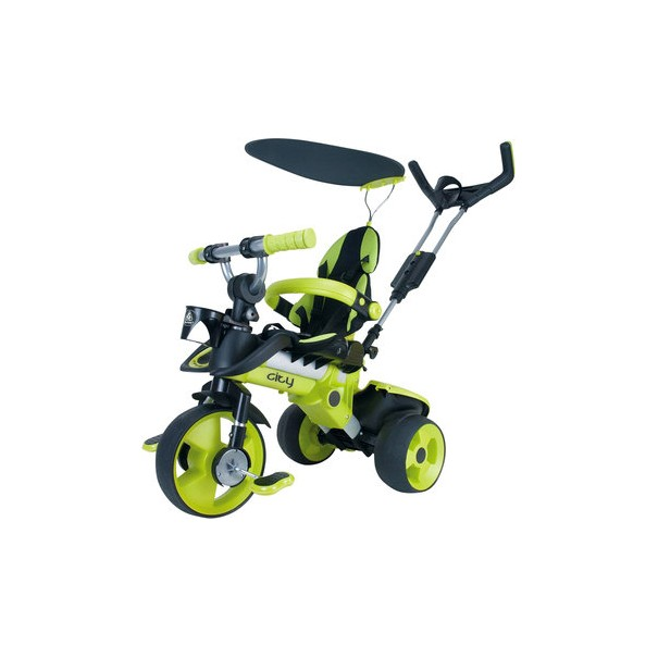 Tricycle évolutif Trike City vert