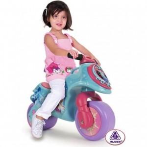 Porteur moto La Reine des Neiges