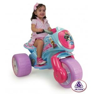 Moto électrique 3 roues 6v La Reine des Neiges