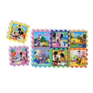Tapis de jeu puzzle 8 pièces en mousse Minnie