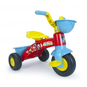 Tricycle MICKEY avec benne et panier avant