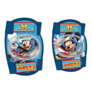 Set de genouillères et coudières Mickey (3 à 10 ans)