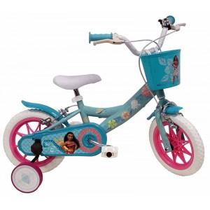 Vélo Vaiana 12 pouces avec panier avant et sonnette