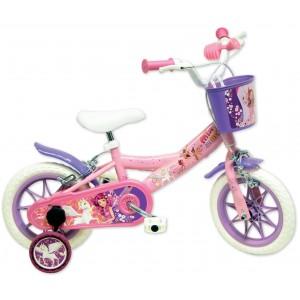Vélo Mia et moi 12 pouces avec panier et klaxon
