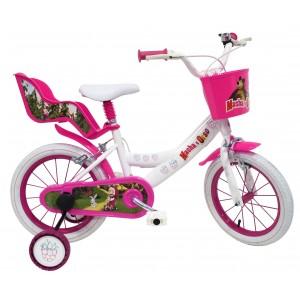 Vélo enfant Masha et Michka - 16 pouces