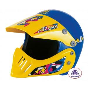 Casque Moto Cross Helmet avec visière et coque menton