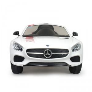 Voiture électrique enfant 12V iMove édition spéciale blanche Mercedes Benz AMG GT- S