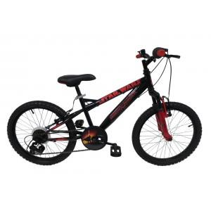 VTT STAR WARS Vélo VTT 20 Pouces Enfant Garçon - Rebell à fourche suspendue - 5 vitesses