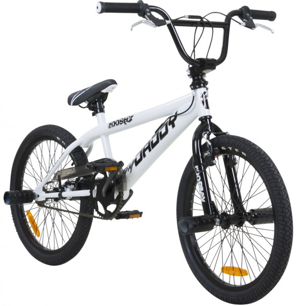 BMX 20 pouces Rooster Big Daddy Spoked blanc