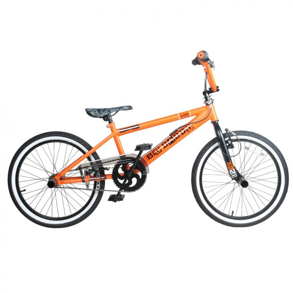 BMX Freestyle 20 pouces Rooster Big Daddy orange noir