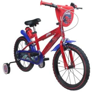 Vélo enfant garçon Spiderman - 14 pouces