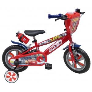 Vélo enfant garçon Cars Flash McQueen - 12 pouces