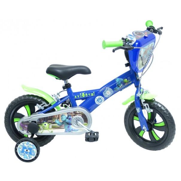 Vélo enfant MONSTRES ET COMPAGNIE 12 pouces