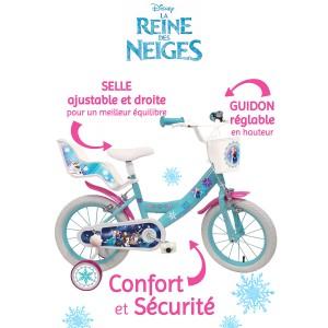 Vélo LA REINE DES NEIGES 16 pouces - Millésime 2017 -