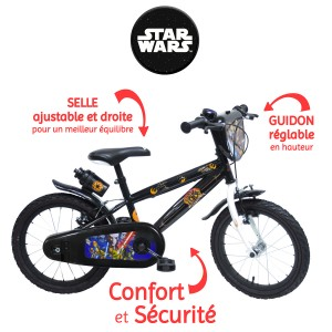 Vélo STAR WARS REBELS 16 pouces (Roulements Nylon)