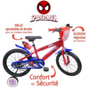 Vélo SPIDERMAN 16 pouces