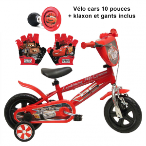 Vélo CARS 10 pouces