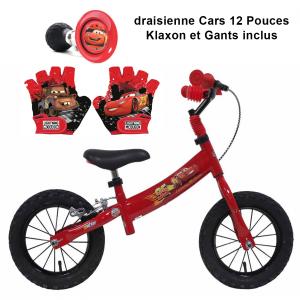 Draisienne CARS 12 pouces