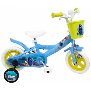 """Vélo enfant fille Le monde de Dory - 10 pouces (1/3 ans) - Coloris Bleu - (""""Distributeur Officiel"""")"""