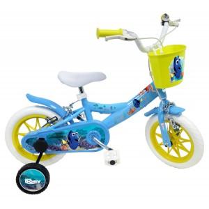 """Vélo enfant fille Le monde de Dory - 12 pouces (2/4 ans) - Coloris Bleu - (""""Distributeur Officiel"""")"""