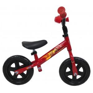 Draisienne enfant garçon Cars Flash McQueen - 10 pouces (1/3 ans) - Coloris rouge - (Distributeur Officiel)