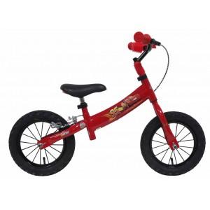 Draisienne garçon CARS - 12 pouces (2/4 ans) - Coloris Rouge - (Distributeur Officiel)
