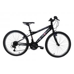 Vélo Route 66 24 pouces - noir