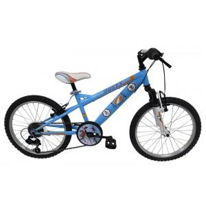 """Vélo enfant garçon PLANES - 20 pouces (7/9 ans) - Coloris Bleu - (""""Distributeur Officiel"""")"""