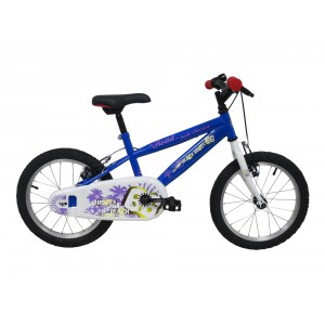 """Vélo ROUTE 66 garçon - 16 pouces (5/7 ans) - Coloris Bleu - (""""Distributeur Officiel"""")"""