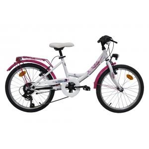 """Vélo ROUTE 66 - Modèle CITY - 20 pouces 6 vitesses (7/9 ans) - (""""Distributeur Officiel"""")"""