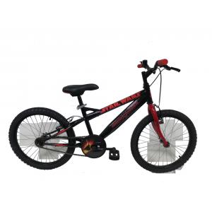 """Vélo enfant garçon Star Wars - 20 pouces 1 vitesse (7/9 ans) - Coloris Noir - (""""Distributeur Officiel"""")"""