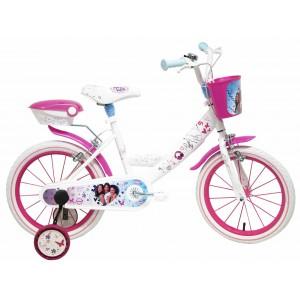 Vélo Violetta 16 pouces avec panier et boite de rangement