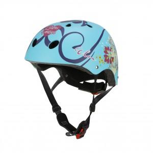 """Casque de vélo fille La Reine des Neiges (6/10 ans) - Coloris Bleu Ciel - (""""Distributeur Officiel"""")"""