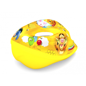 "Casque de vélo Winnie L'ourson (3-7 ans environ) - Coloris Jaune - (""Distributeur Officiel"")"