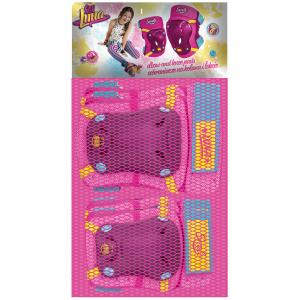 """Set de genouillères et coudières fille Soy Luna (6/12 ans) - (""""Distributeur Officiel"""")"""