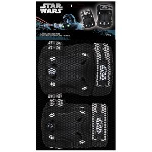"""Set de genouillères et coudières garçon Star Wars (6 à 12 ans) - Coloris Noir - (""""Distributeur Officiel"""")"""