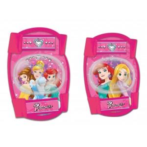 Set de genouillères et coudières pour fille Princesses (de 3 à 10 ans environ)