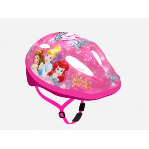 """Casque vélo fille Princesses (3-7 ans environ) - Coloris Rose - (""""Distributeur Officiel"""")"""