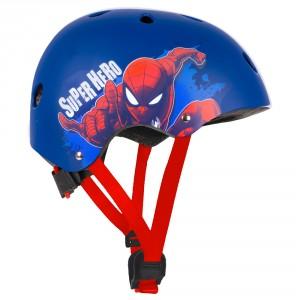 Casque de vélo garçon Spiderman (6-11 ans environ)