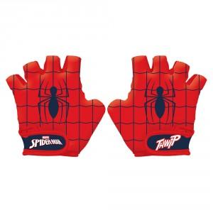 Gants de vélo garçon Spiderman (de 3 à 9 ans environ)