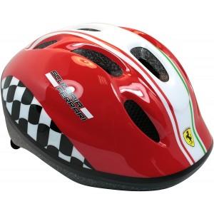 """Casque de vélo rouge Scuderia Ferrari Formule 1 (4/10 ans) - Coloris rouge - (""""Distributeur Officiel"""")"""