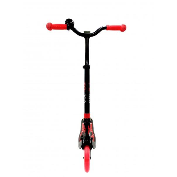 Trottinette électrique pliable EEZIFlash pour enfant 3-8 ans - 120W, 10 Km/h, capacité de charge 50 Kg - Coloris rouge