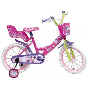 Vélo enfant fille Minnie - 16 pouces