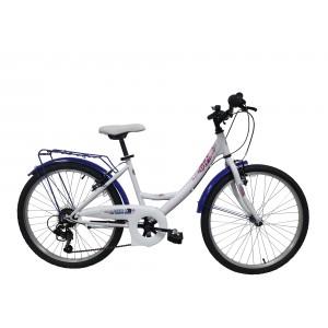 Vélo 24 pouces 6 vitesses ROUTE 66 - modèle CITY