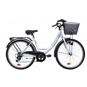 Vélo de ville 26 pouces Route 66 - modèle City -